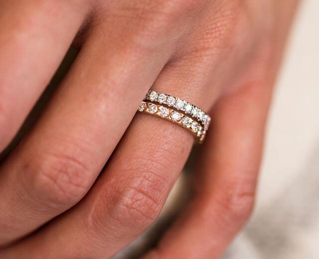 beautiful eternity rings