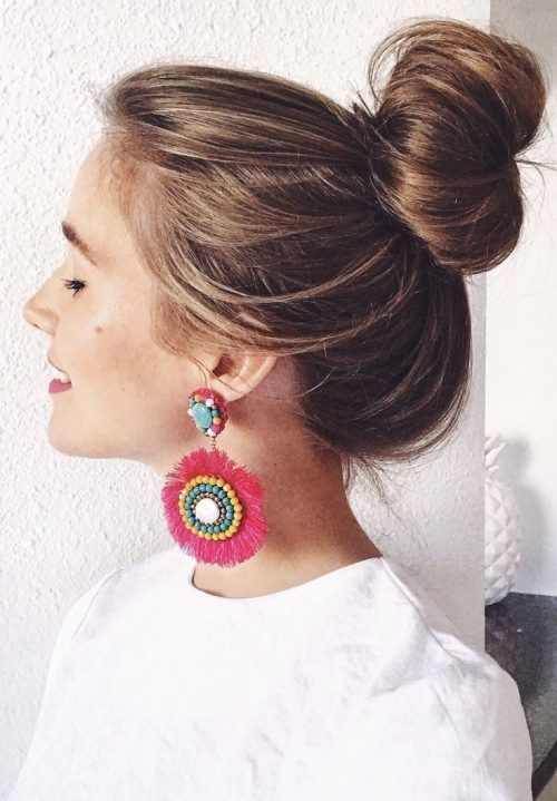 fun tassel earring