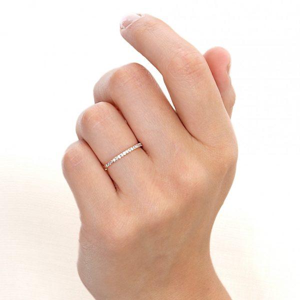 thin eternity ring