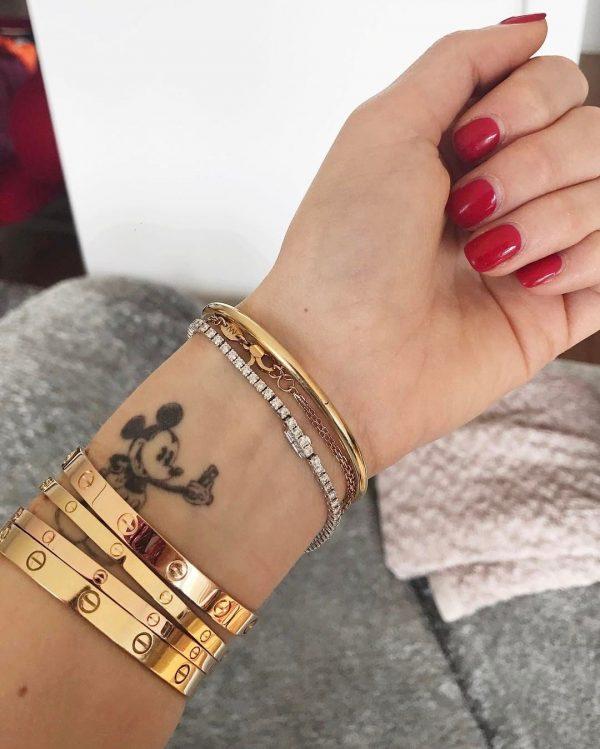 thin stack bracelets