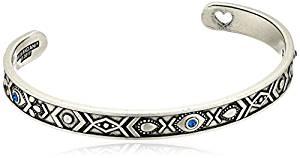 Alex and Ani Womens Evil Eye Cuff Bracelet