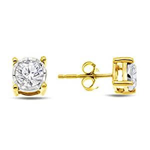 Diamond Miracle Plate Earring