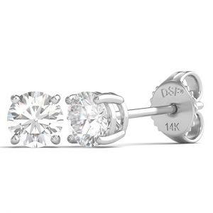 Diamond Studs Forever Solitaire Diamond Earrings