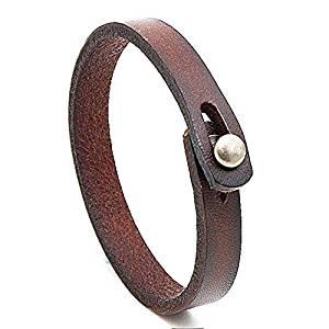 Handmade Unisex Genuine Leather Bracelet