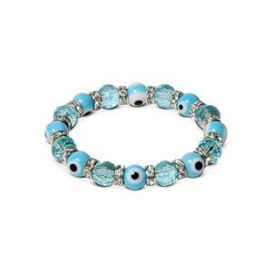 KALIFANO Blue Tag: Evil Eye Bracelets