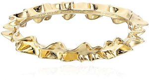 Kate Spade New York Heavy Metals Ruffle Bangle Bracelet