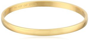 Kate Spade New York Womens Idiom Bangles 2 Heart of Gold
