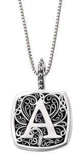Lori Bonn™ Sweets Initial Pendant Necklace