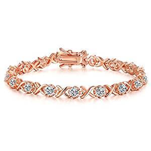 VibrilleXO Link Cubic Zirconia Bracelet