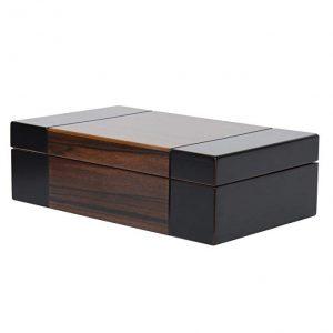 Arolly BELA Dark wood Valet Travel Case