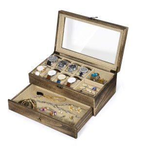 Men's Jewelry Box - RooLee Watch Box Case