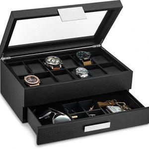 Men's Jewelry Boxes - Glenor Co Watch Box