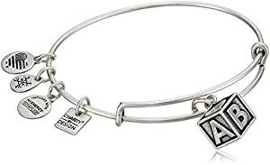 Alex and Ani Baby Block Charity by Design Bangle Bracelet