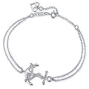 Anchor Static Charm Bracelet