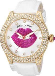 Betsey Johnson Womens BJ00019-72 - Crystal Lips Strap