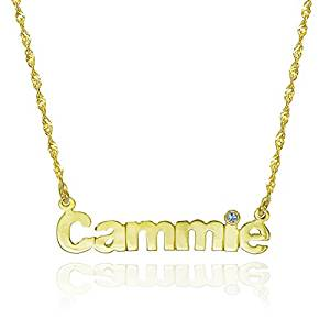 20a6a4274b6ba Gold Nameplate Necklace List - Top 10 Editor's Pick | Jewelry Jealousy