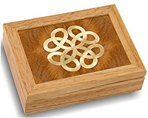 MarqART Wood Art Celtic Box - Handmade USA - Unmatched Quality - Unique