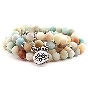 Rainbow Mala Beads Necklace
