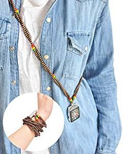 Rasta Beads Smart Watch Holder