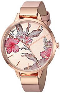 Rose Floral Watch by Nine West