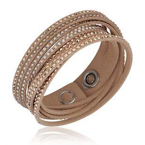 Swarovski Crystal Slake Silk Bracelet