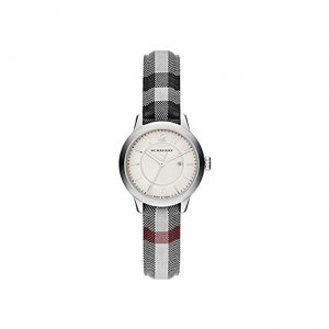 Swiss Stone Check Fabric Watch by Burberry