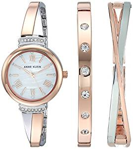 Watch and Bangle Set by Anne Klein