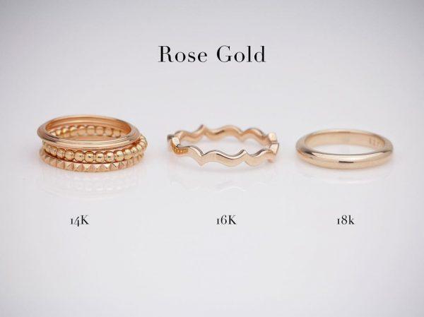 Rose gold shades
