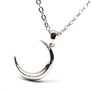8. Linana Women's Silver Moon Necklaces + Gift Bag