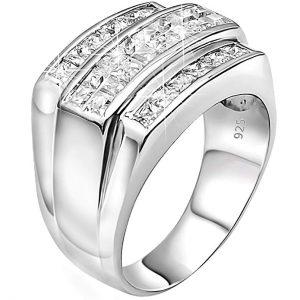 1. Sterling Manufacturers Sterling Silver .925 Designer Ring