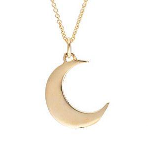 5.Lil Klein Jewelry Moon Neckalces