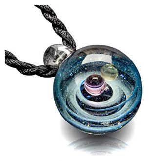 Pavaruni Original Galaxy Pendant Necklace