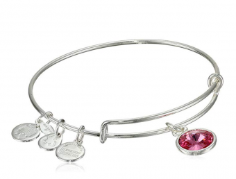 Alex and Ani October birthstone bracelet