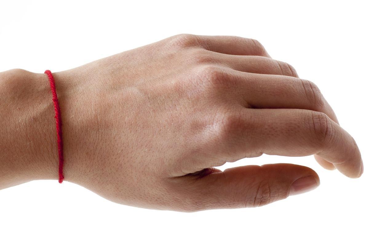 Red String Bracelets: Minimalist Good Luck Bracelet