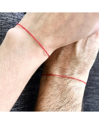 red string message