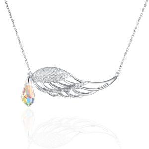 PLATO H Drop Pendant Necklace