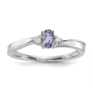 Birthstone Band Ring