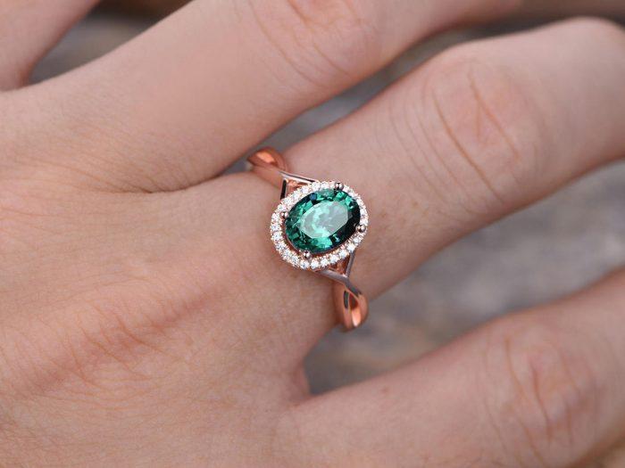 Alexandrit-Ring