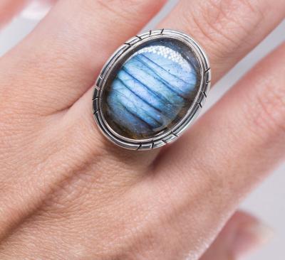 Labradorite Ring - Aurora