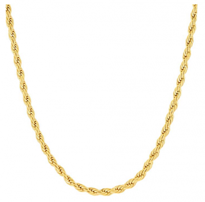 Lifetime Jewelry Gold Rope Chain for Women & Men