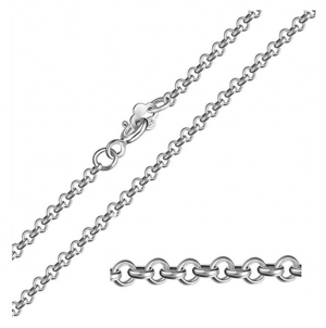1pc Top Quality 18 inch Sterling Silver Belcher Cable Chain Chain (1.5mm Width) for Women Men Girls Jewelry Making ss208