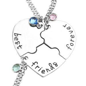 81cbea04da2b63 Best Friend Necklaces for 3: Surprise your Besties! | JewelryJealousy