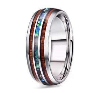 Adramata 8mm Titanium Wedding Band