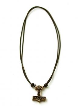 Bronze Axe head Thors Hammer Mjolnir Pendant / Necklace Viking Ragnarok Norse Irish Pagan Jewelry