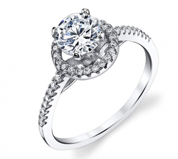 Sterling Silver CZ Classic Single Stone Engagement solitare ring with Cubic CZ's 4.0 out of 5 stars 1 customer review