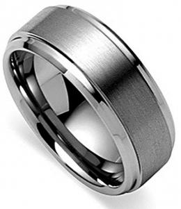 King Will Basic Men's Tungsten Carbide Ring