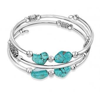 Sofia Luxe Handmade Stainless Steel Wire Bracelet