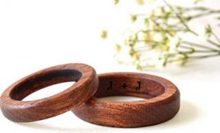 CoolNaturalJewelry Mahogany Ring