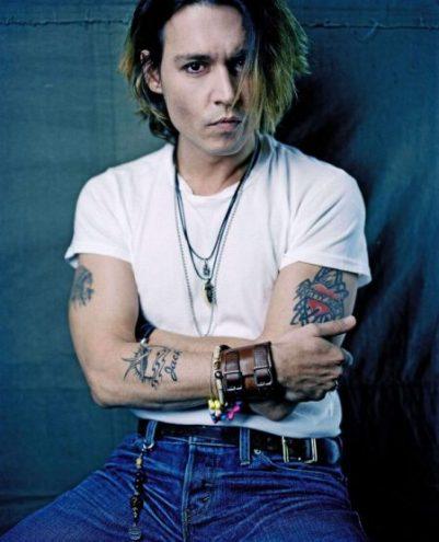Johnny Depp leather necklace