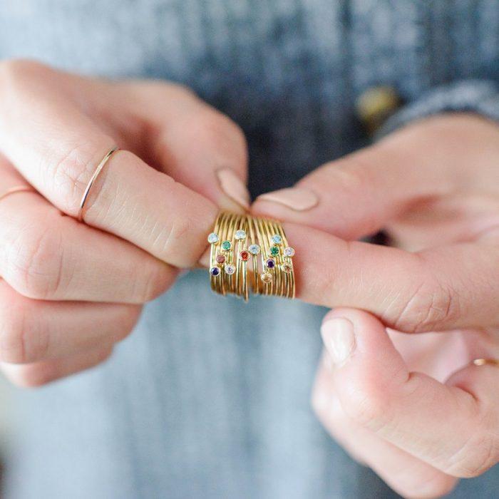 walnut rose jewelry